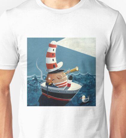 Ship Ahoy! Unisex T-Shirt