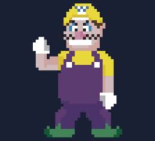 8Bit Wario One Piece - Long Sleeve