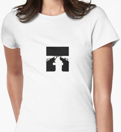 graveyard  Womens Fitted T-Shirt