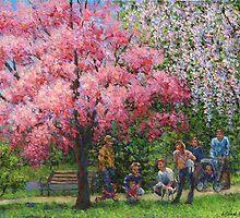 One Spring Morning by Susan Savad