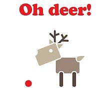 Oh deer! by samedog
