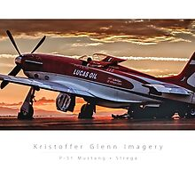 "P-51 Mustang ""Strega"" by KristofferGlenn"