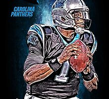NFL Carolina Panthers by Dan Snelgrove