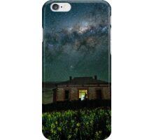 Galaxy over Homestead Ruin iPhone Case/Skin