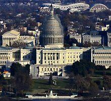 Capitol Dome Restoration Project - Washington D.C. - MMXIV by Matsumoto