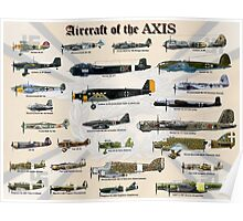Aircraft of the AXIS Poster