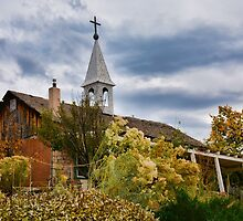 Bishop's Lodge Chapel in Autumn by Robert Meyers-Lussier