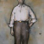 Portrait of John Burke by Keelan McMorrow