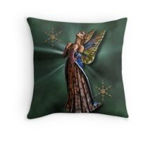 BEAUTIFUL FAIRY.. WITH THOUGHTS OF YOU.I THOUGHT LOVE WAS ONLY TRUE IN FAIRY TALES.> PILLOW AND OR TOTE BAG Throw Pillow