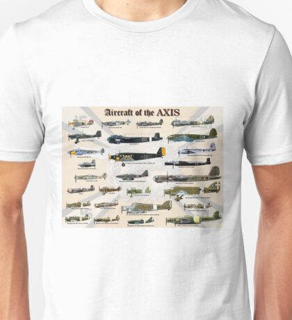 Aircraft of the AXIS Unisex T-Shirt