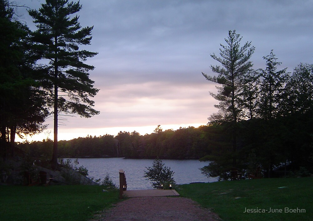 Northern Ontario At Sunset by Jessica-June Boehm