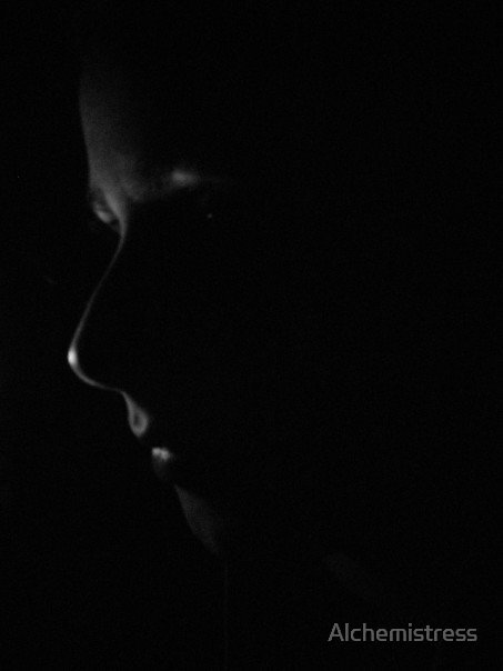 Face in the Shadow by Alchemistress