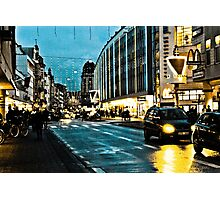 The triangle - Triangeln - color Photographic Print