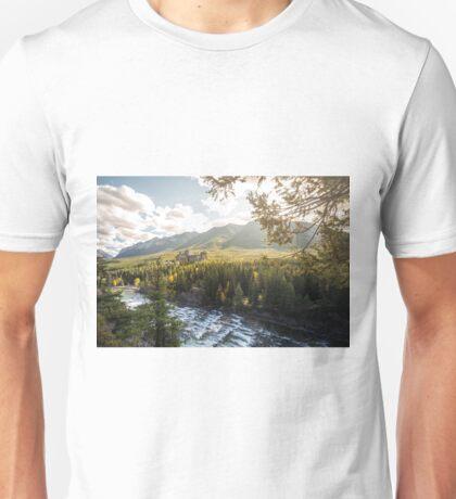 Banff, Alberta - Banff Springs Hotel Unisex T-Shirt