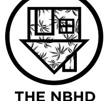 The NBHD - Palm Print w/ Text by agShop