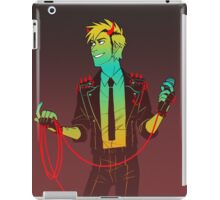 red wire iPad Case/Skin