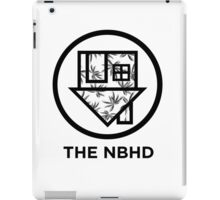 The NBHD - Palm Print w/ Text iPad Case/Skin