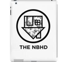 The NBHD - Palm Print w/ Text iPad Case/Skin