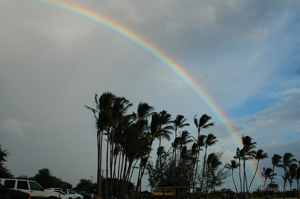 Rainbows of Kauai by mcrowleyphoto