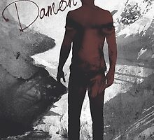 The Vampire Diaries Damon Salvatore by Dylanoposey
