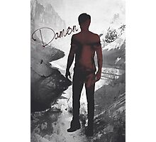 The Vampire Diaries Damon Salvatore Photographic Print