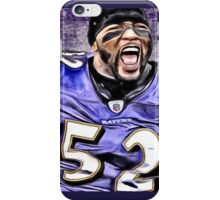 NFL Baltimore Ravens Legend Ray Lewis iPhone Case/Skin