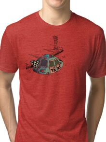 Too rich for the bus. Tri-blend T-Shirt