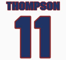Basketball player Klay Thompson jersey 11 by imsport