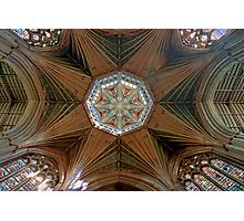 The Octagonal Lantern with Windows, Ely Cathedral Photographic Print