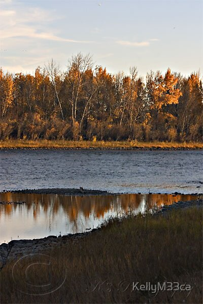 Fall Reflections by KellyM33ca