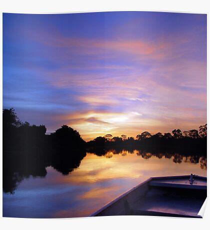 Pantanal Sunset 2 Poster