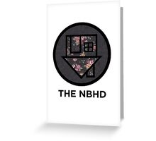 The NBHD - Dark Floral Print Greeting Card