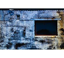 Azure Cobalt Photographic Print