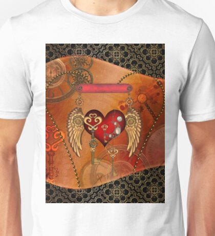 Wondeful heart with wings Unisex T-Shirt