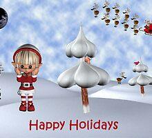 Wheres Santa version 2 by Catherine Crimmins