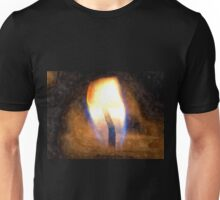 Festive candle light flame Unisex T-Shirt