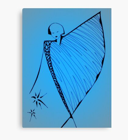Glow Girl - Series 2 Canvas Print