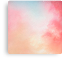 Abstract Background with Clouds Canvas Print