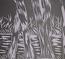 Barmah Trees by Joan Wild