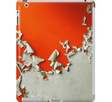 Orange Paper Peel iPad Case/Skin