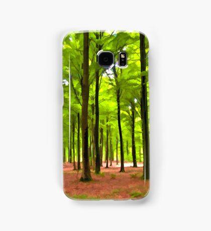 Beautiful lush Forest landscape Samsung Galaxy Case/Skin