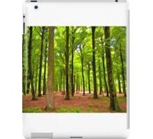 Beautiful lush Forest landscape iPad Case/Skin