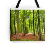 Beautiful lush Forest landscape Tote Bag