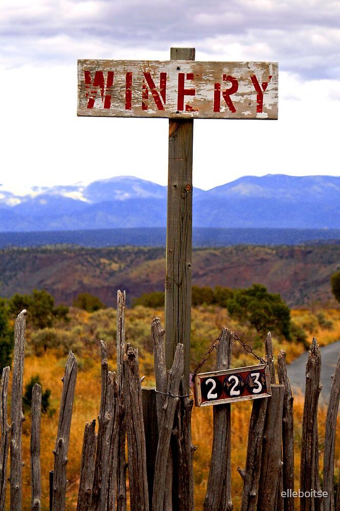 The winery by elleboitse