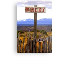 The winery Metal Print