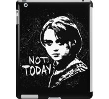 Not Today 2 iPad Case/Skin