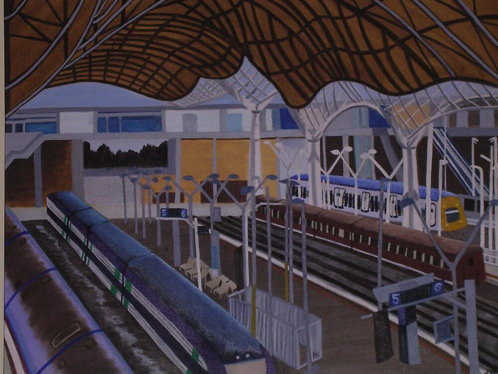 Southern Cross Station by Joan Wild