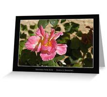 Brushed Pink Rose - Cool Stuff Greeting Card