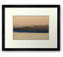 Port of Brisbane Framed Print