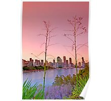 Brisbane City - Qld Australia Poster